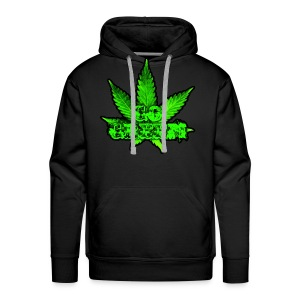 Go Green Black - Men's Premium Hoodie
