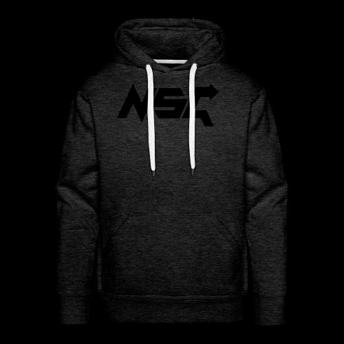 #NonStopGaming Hoodie (Grey) - Men's Premium Hoodie