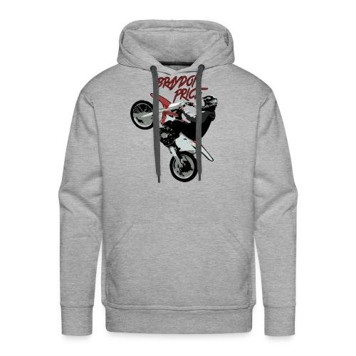 Men's Premium Hoodie - Braydon Price Wheelie Front - Men's Premium Hoodie