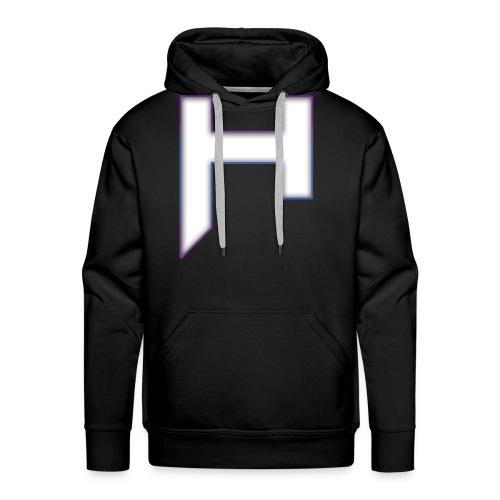 H Hoodie - Men - Men's Premium Hoodie