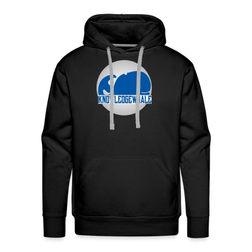 Mens Enclosed KnowledgeWhale New School Casual Hoodie - Men's Premium Hoodie