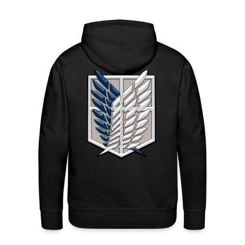 Survey Corps Logo - Men's Premium Hoodie