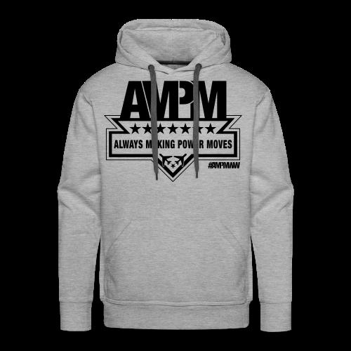 Men's Heavyweight Premium Hoodie (GRAY) - Men's Premium Hoodie