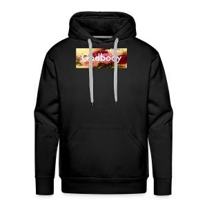 Big & Tall Godbody Floral Box Logo hoodie - Men's Premium Hoodie