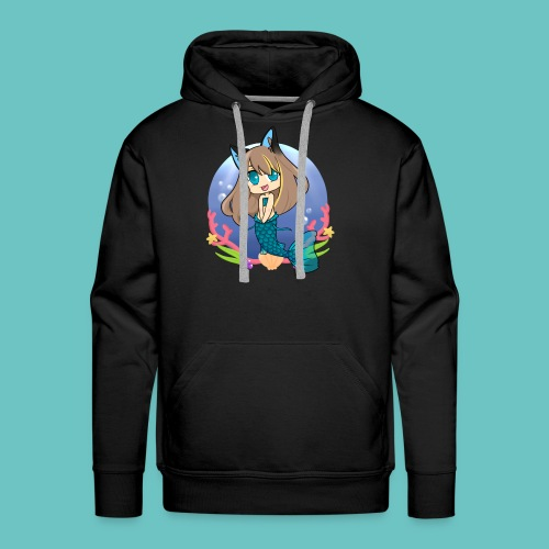 Frozencat3030- Mermaid in the Sea- No Logo/Name- Men's Sweater//Hoodie - Men's Premium Hoodie