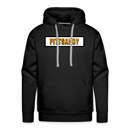 """PittsAhoy 3D Logo"" Men's Hoodie - Men's Premium Hoodie"