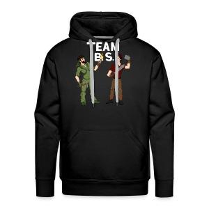 Team B.S. Men's Premium Hoodie (Style 3) - Men's Premium Hoodie