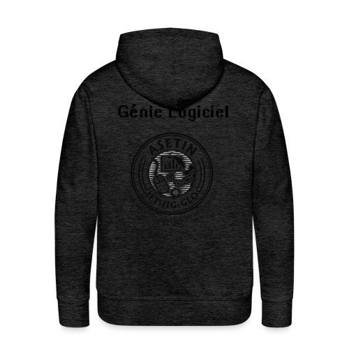 Hoodie Génie Logiciel - Molleton à capuche Premium pour homme