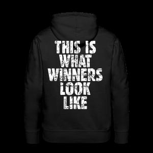 Winner Hoodie Vintage/White - Men's Premium Hoodie
