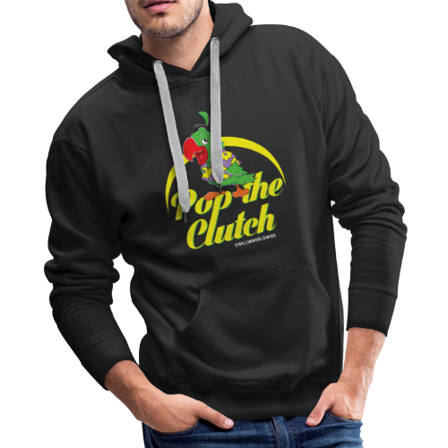 Pop The Clutch Men's Hoodie - Men's Premium Hoodie