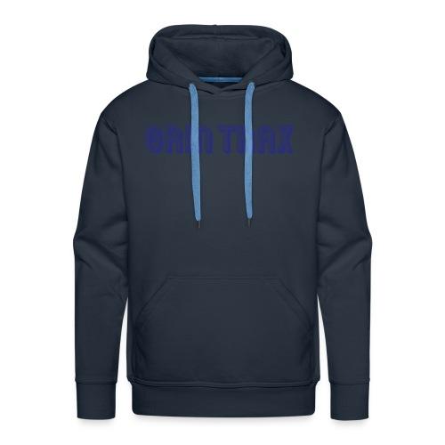 Grint-Trax-Logo-Blue - Men's Premium Hoodie