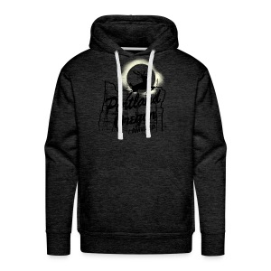 MENS HOODIE - 2017 Solar Eclipse Commemorative  - I SURVIVED - Men's Premium Hoodie
