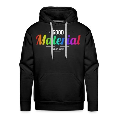 Material rainbow Hoodie (Dark colors) - Premium - Men's Premium Hoodie