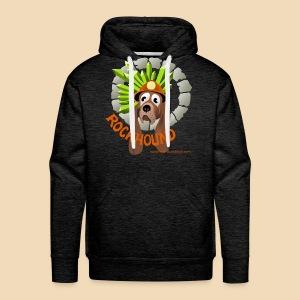 rockhound men's charcoal hoodie - Men's Premium Hoodie