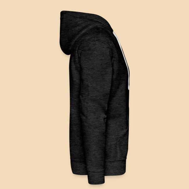 rockhound men's charcoal hoodie