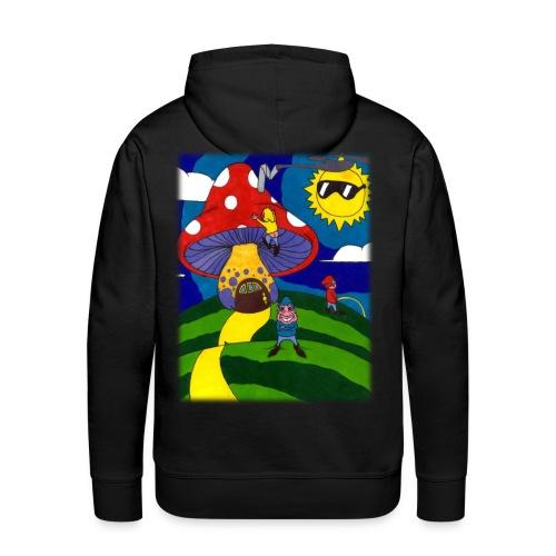 three runts hoodie - Men's Premium Hoodie