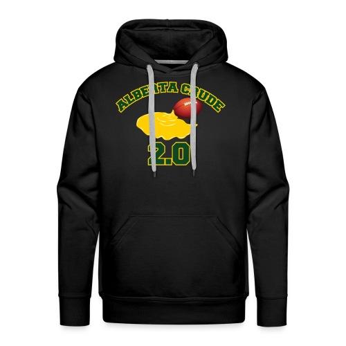 Black ab crude hoodie - Men's Premium Hoodie