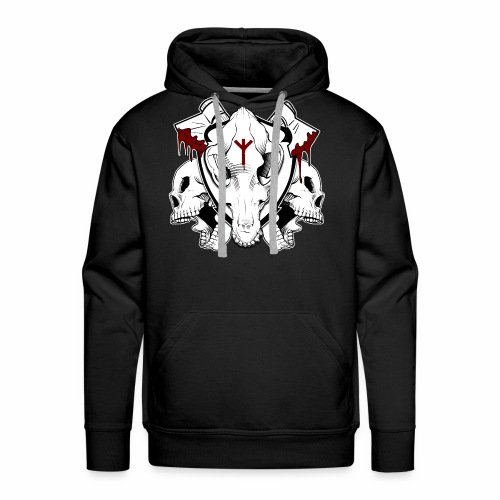 Blood And Bones - Men's Premium Hoodie