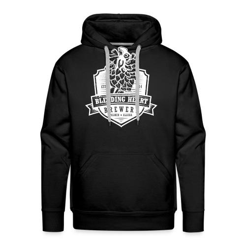 Men's Premium Hoody - White logo - Men's Premium Hoodie