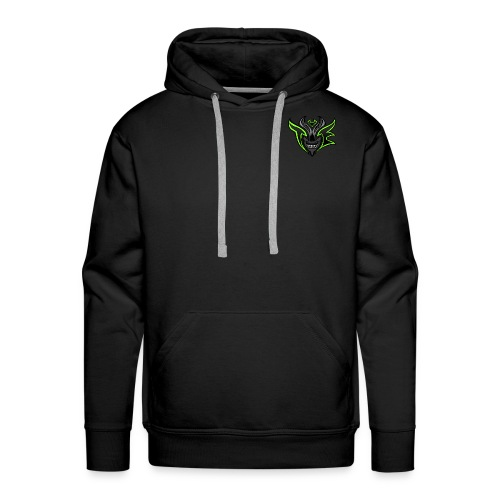 TE Hoodie - Large logo on the back &  small on the front - Men's Premium Hoodie