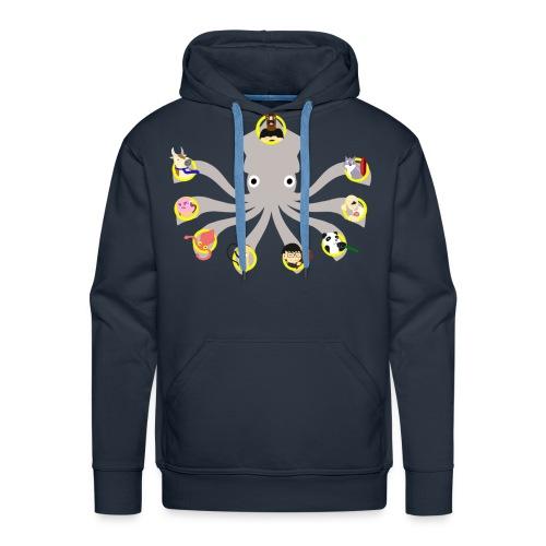 Twitch Squid Premium Men's Hoodie - Men's Premium Hoodie