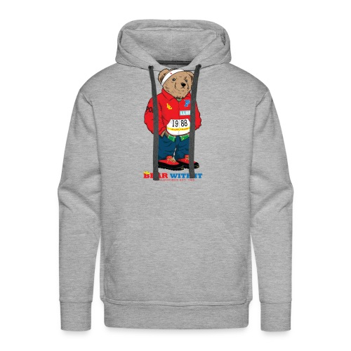 BEAR WITH IT HOODIE - Men's Premium Hoodie