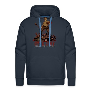 Otis Jiry Monster (Navy) - Men's Premium Hoodie