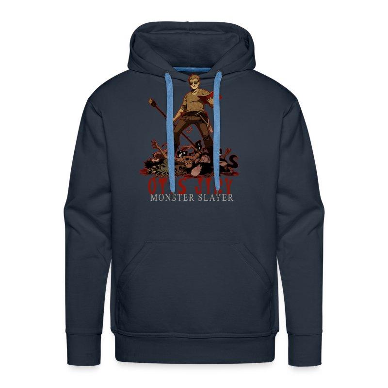 Otis Jiry Monster (Navy) - Men's Premium Hoodie