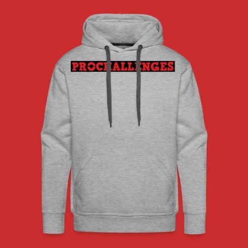 Men's Prochallenges Premium Hoodie (Grey) - Men's Premium Hoodie