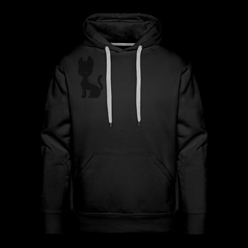 Cat silhouette mens hoodie - Men's Premium Hoodie