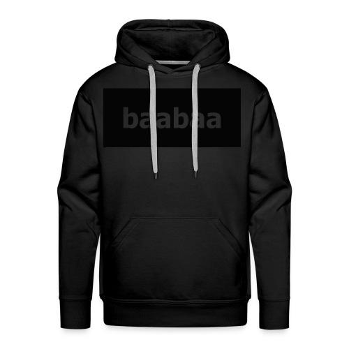 baabaa hooddie - Men's Premium Hoodie