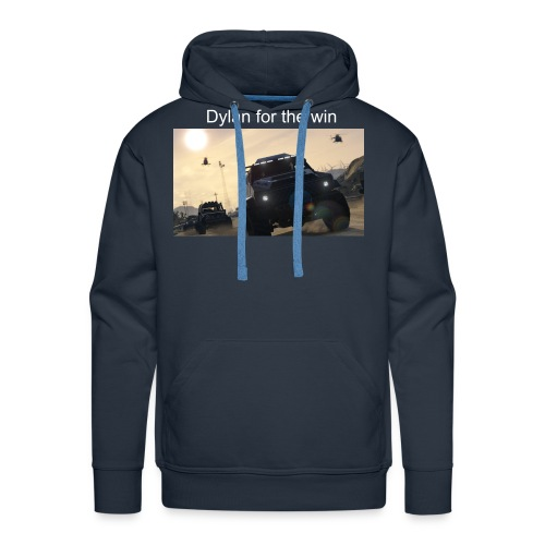 gta5 dylan for the win mens - Men's Premium Hoodie