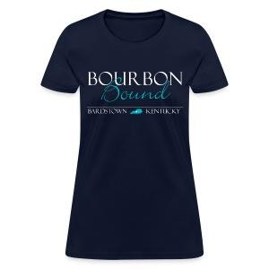 Bourbon Bound - Women's Blue - Women's T-Shirt