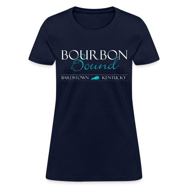 Bourbon Bound - Women's Blue