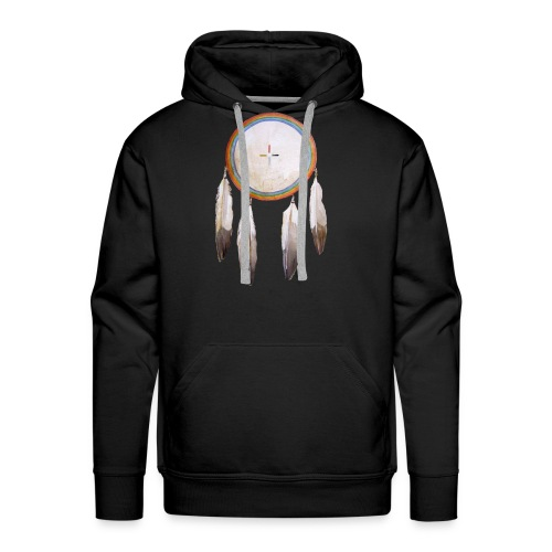 Rainbow Shield Sweatshirt - Men's Premium Hoodie