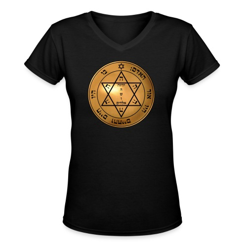 Mandingueiro - Women's V-Neck T-Shirt