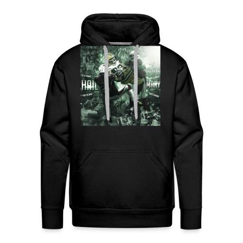 Hail Mary Mens' Hoodie - Men's Premium Hoodie