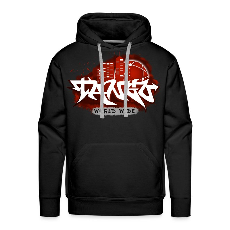 Red Graffiti - Men's Premium Hoodie