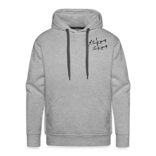 xskrtskrt Grey Hoodie - Men's Premium Hoodie