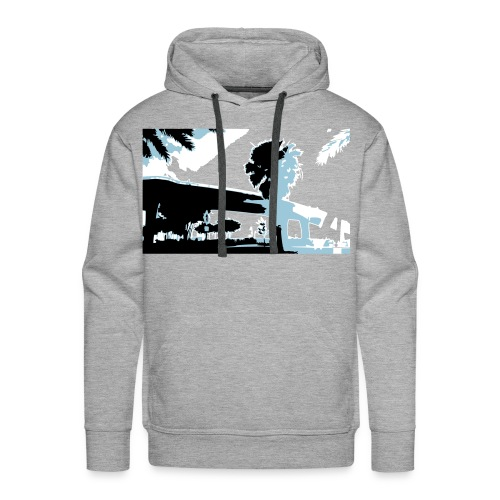 Clearwater Beach - Men's Premium Hoodie