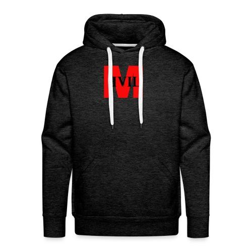 Men's Hoodie - Grey - Men's Premium Hoodie