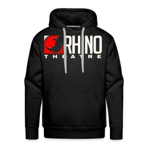 Rhino Theatre Pullover Men's/Unisex Black Hoodie - Men's Premium Hoodie