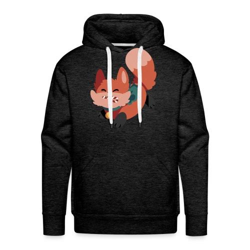 Merry Foxmas Hoodie - Men's Premium Hoodie