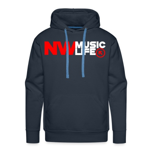 NW Music Life Logo Premium Hoodie - Men's Premium Hoodie