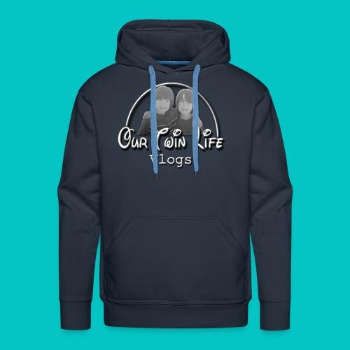 Our Twin Life mens hoodie - Men's Premium Hoodie