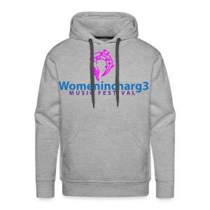 Womenincharg3 Music Festival Men Hoodie - Men's Premium Hoodie