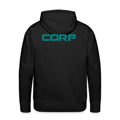 The Corporation Alt Hoodie with back logo - Men's Premium Hoodie