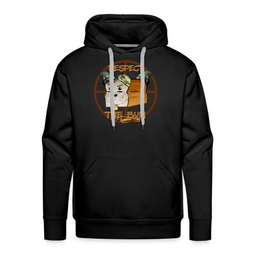 Respect the BuN hoodie - Men's Premium Hoodie