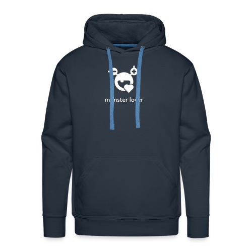 Monster-Hoody by mySugr - Men's Premium Hoodie