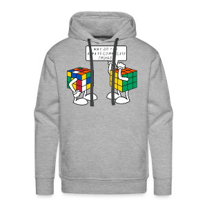 Rubik's Cube Complicate Things - Men's Premium Hoodie